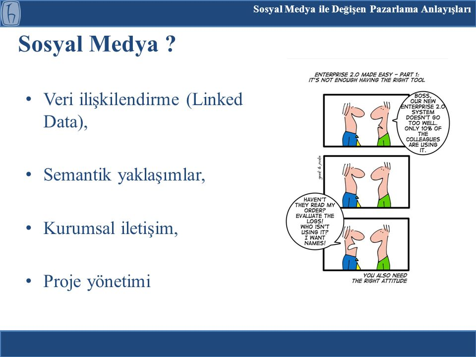 Sosyal Medya Veri ilişkilendirme (Linked Data),