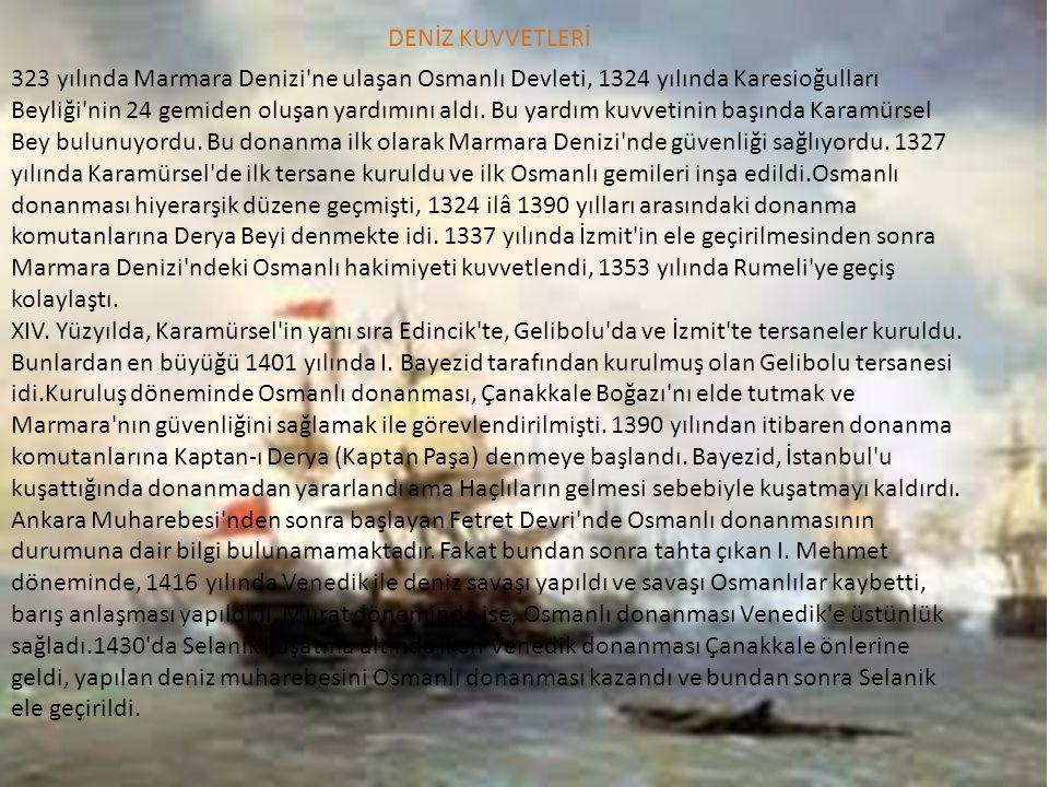 DENİZ KUVVETLERİ