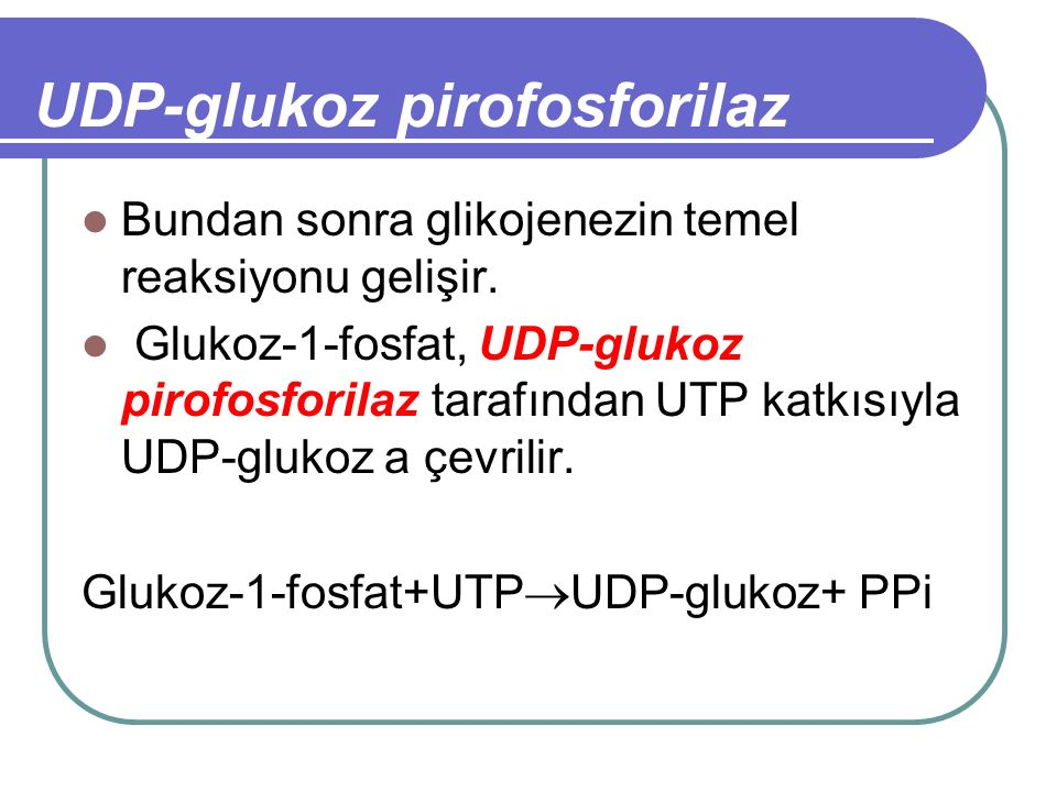 UDP-glukoz pirofosforilaz
