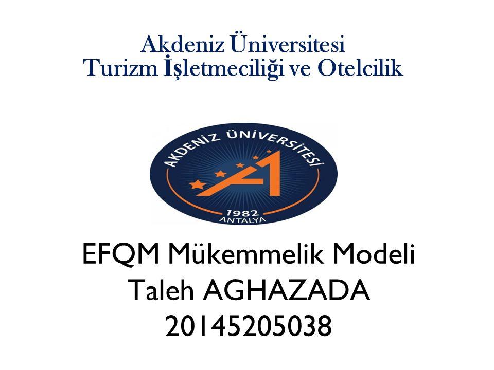 Akdeniz Üniversitesi Turizm İşletmeciliği ve Otelcilik