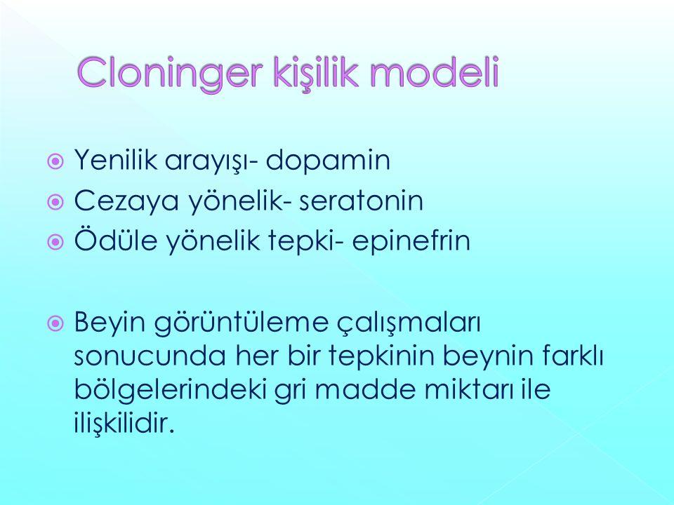 Cloninger kişilik modeli