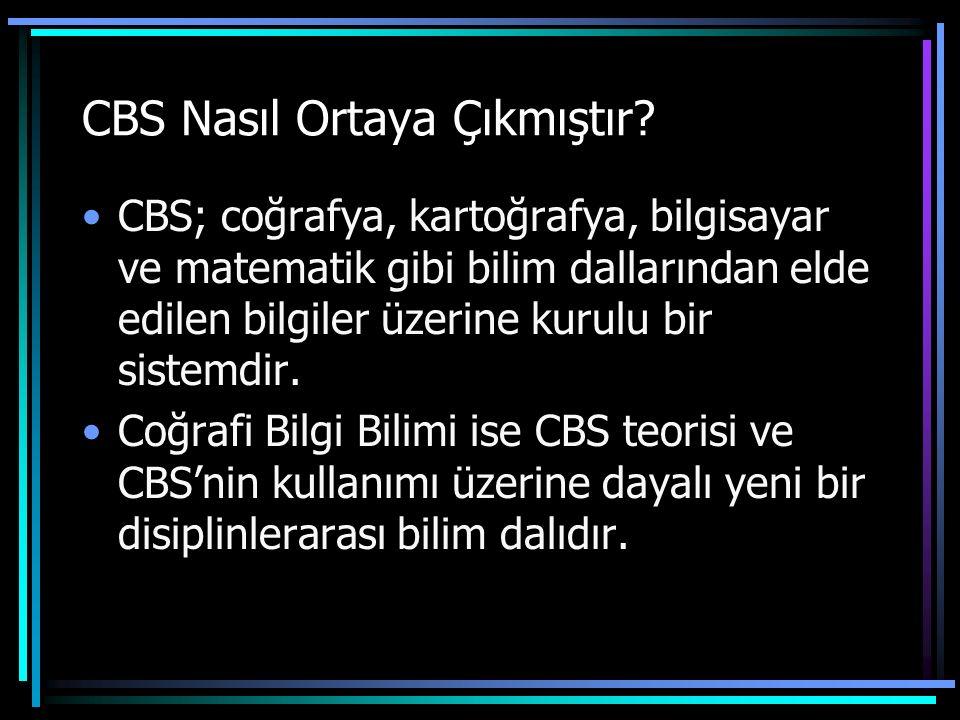 CBS Nasıl Ortaya Çıkmıştır