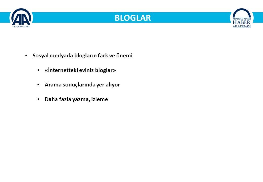 BLOGLAR Sosyal medyada blogların fark ve önemi