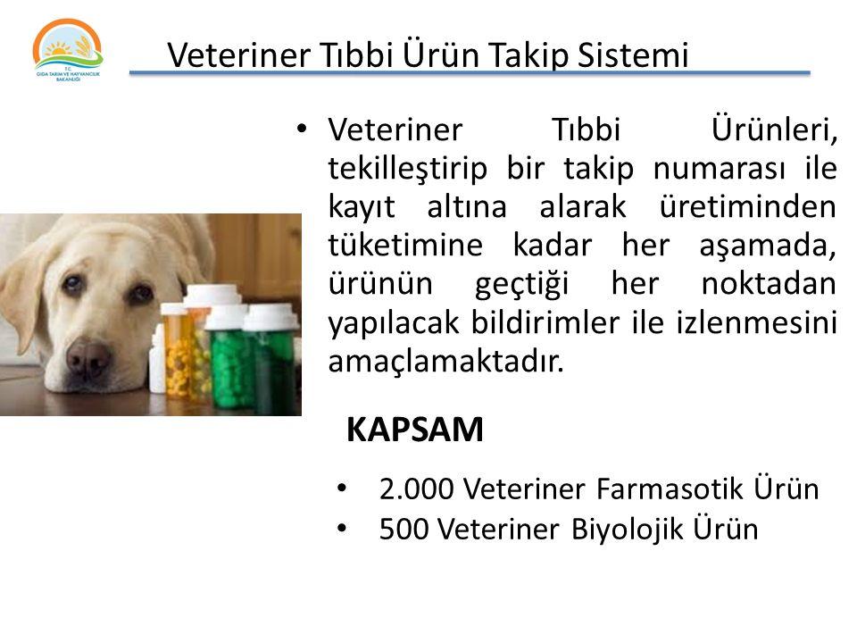 Veteriner Tıbbi Ürün Takip Sistemi