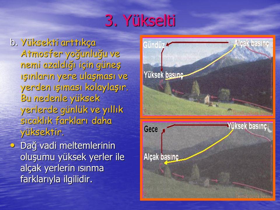 3. Yükselti
