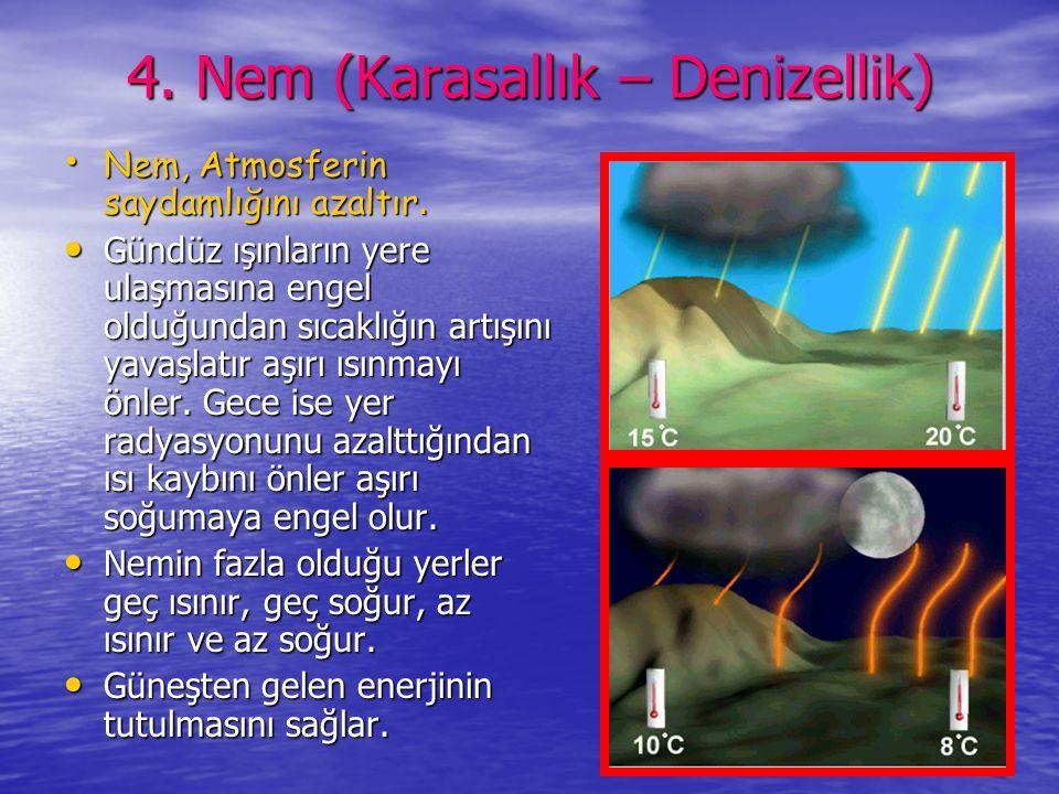4. Nem (Karasallık – Denizellik)