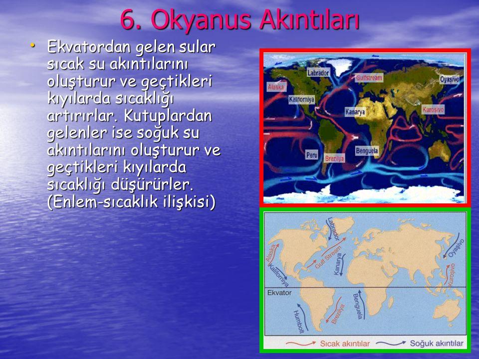 6. Okyanus Akıntıları