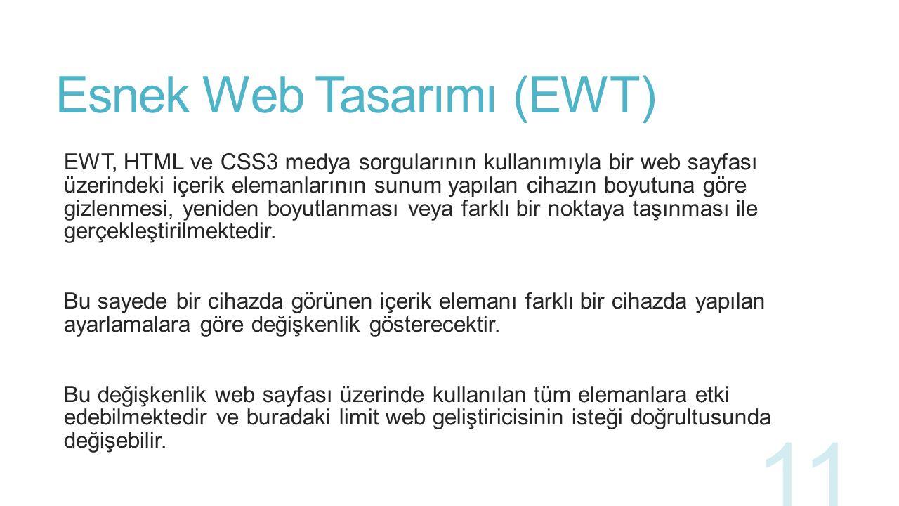 Esnek Web Tasarımı (EWT)