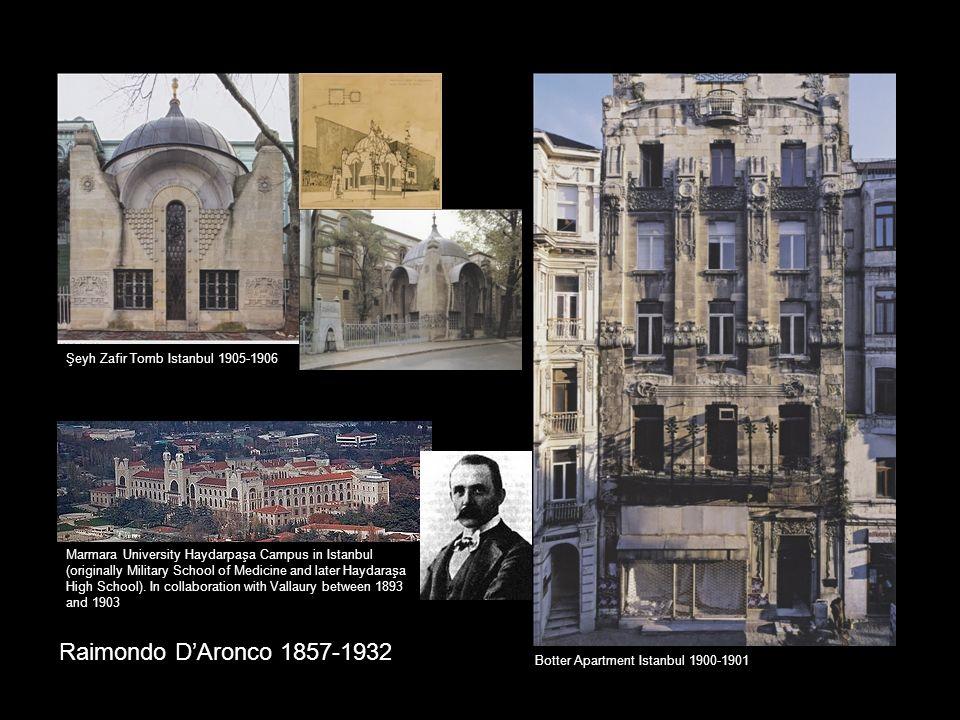 Raimondo D'Aronco 1857-1932 Şeyh Zafir Tomb Istanbul 1905-1906