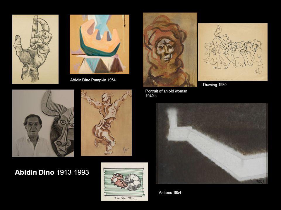 Abidin Dino 1913 1993 Abidin Dino Pumpkin 1954 Drawing 1930