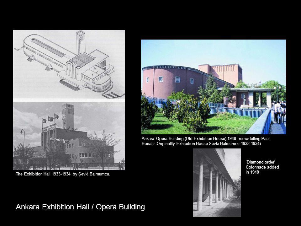 Ankara Exhibition Hall / Opera Building