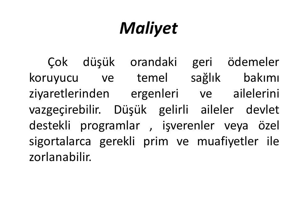 Maliyet