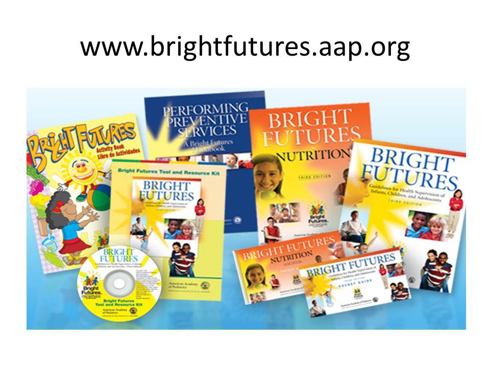www.brightfutures.aap.org