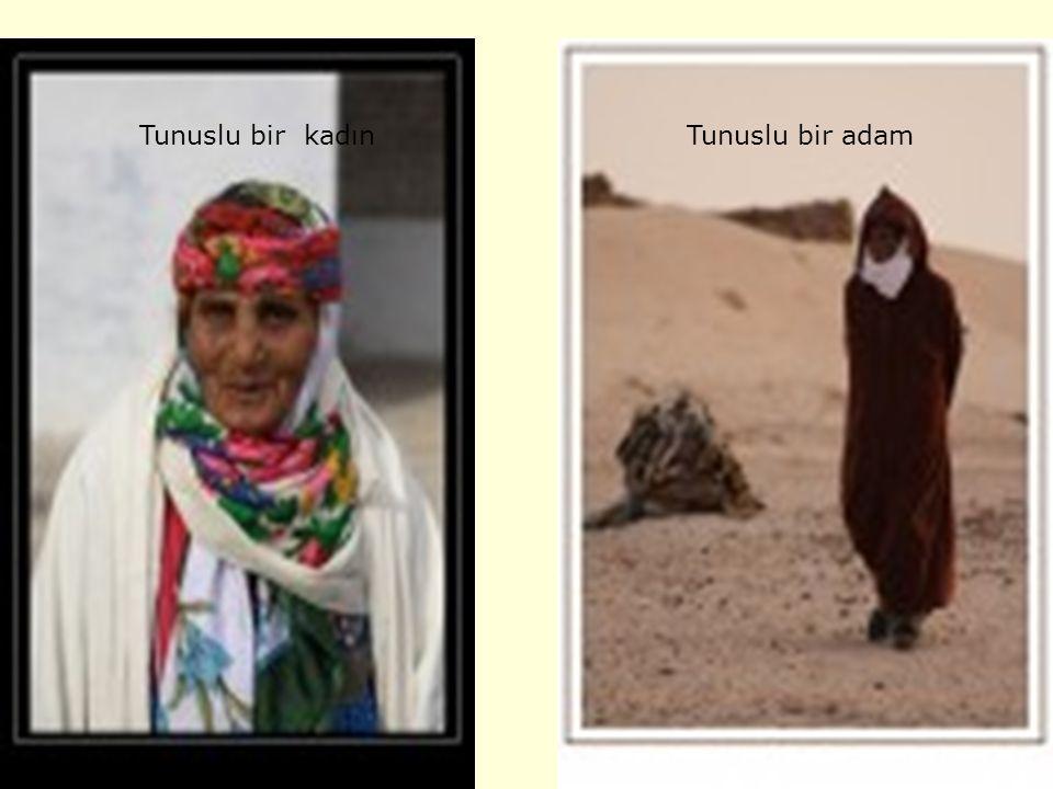 Tunuslu bir kadın Tunuslu bir adam