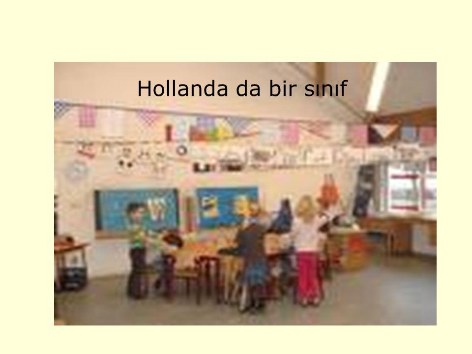 Hollanda da bir sınıf