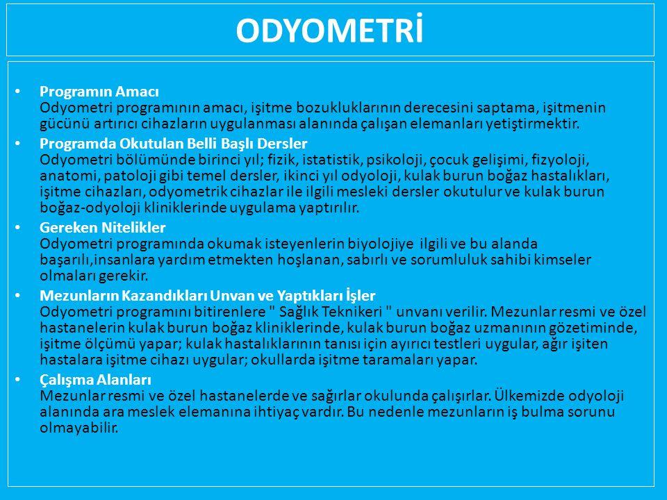 ODYOMETRİ