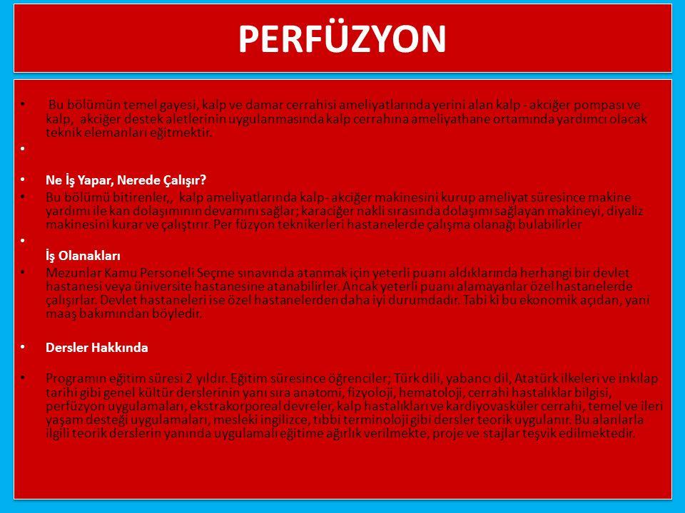 PERFÜZYON