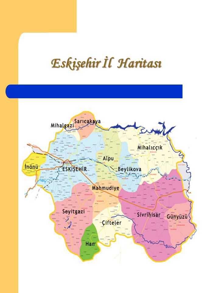 Eskişehir İl Haritası