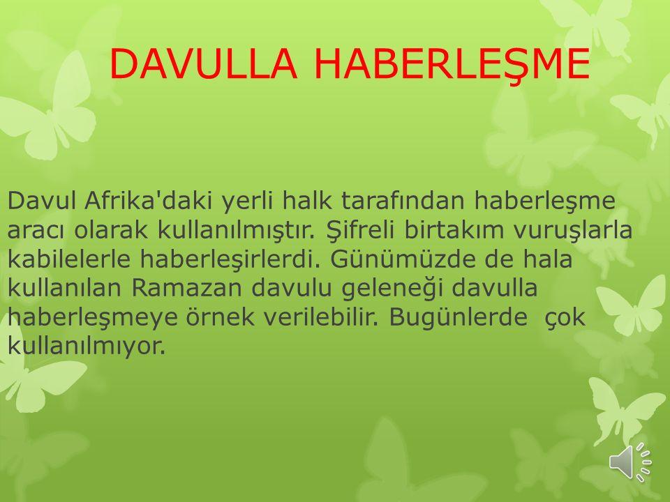 DAVULLA HABERLEŞME