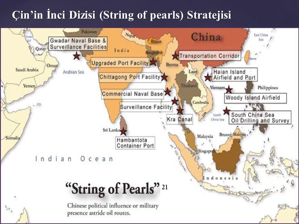 Çin'in İnci Dizisi (String of pearls) Stratejisi