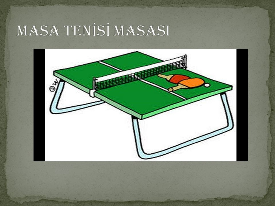 MASA TENİSİ MASASI