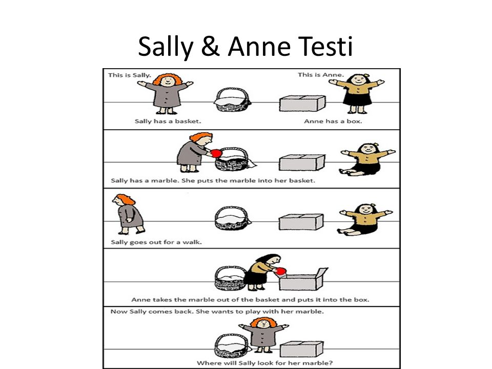 Sally & Anne Testi