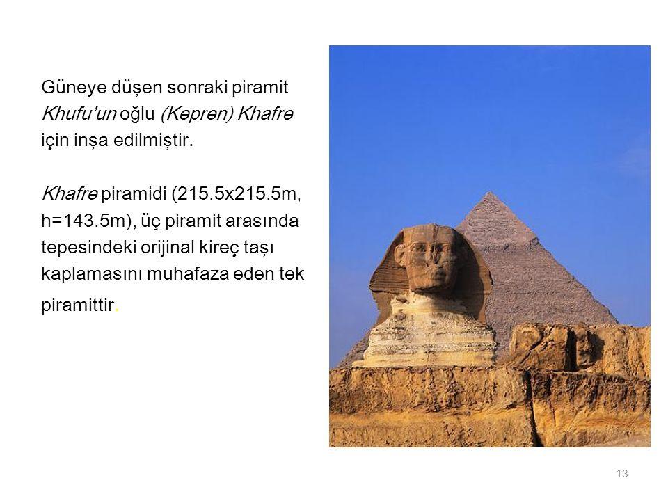 Güneye düşen sonraki piramit