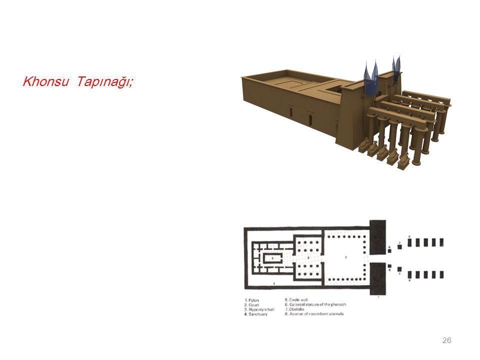 Khonsu Tapınağı;