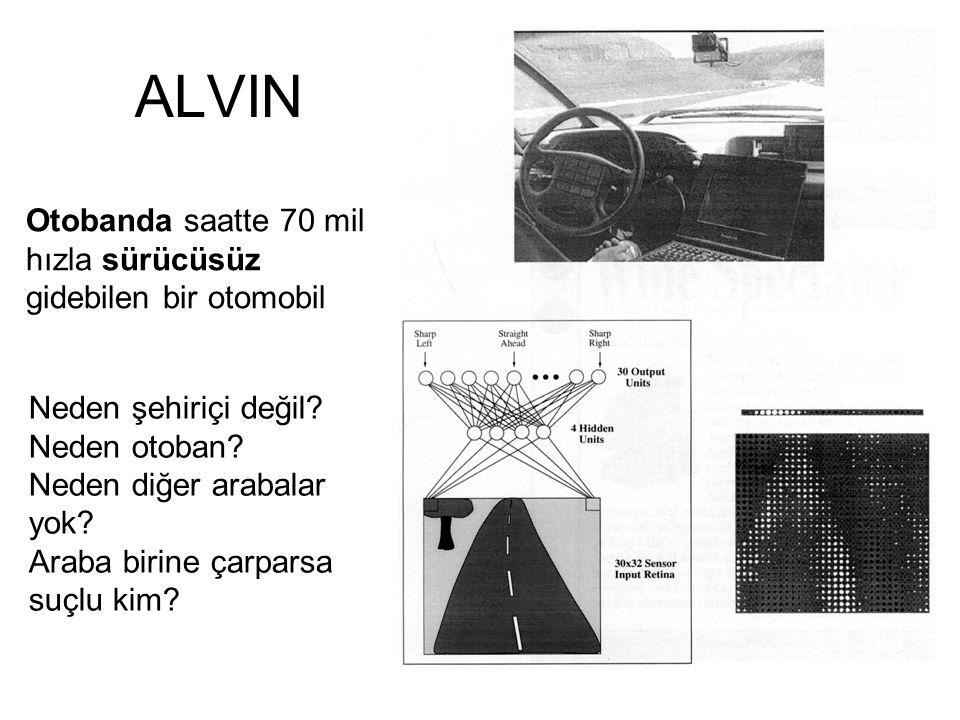 ALVIN Otobanda saatte 70 mil hızla sürücüsüz gidebilen bir otomobil