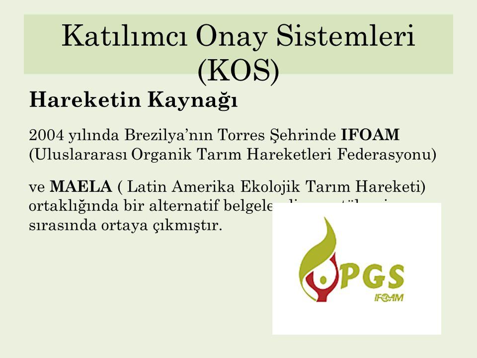 Katılımcı Onay Sistemleri (KOS)