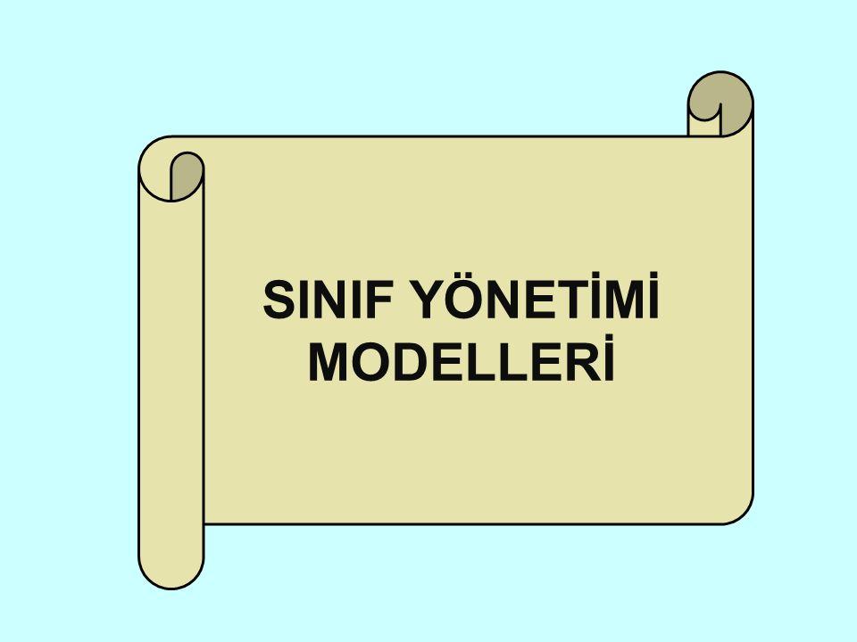 SINIF YÖNETİMİ MODELLERİ