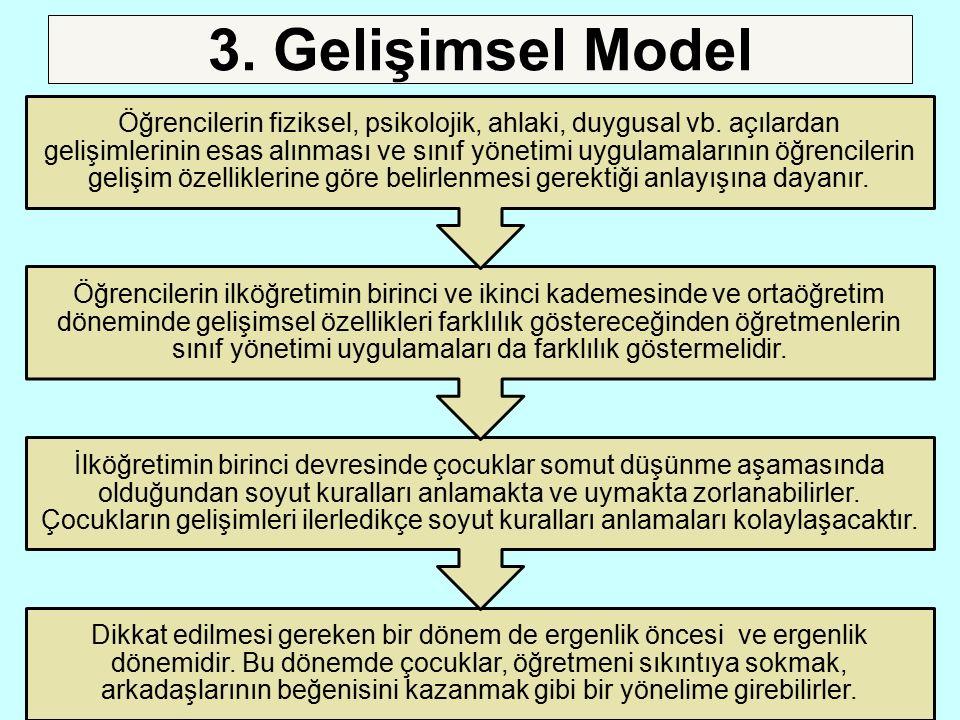 3. Gelişimsel Model