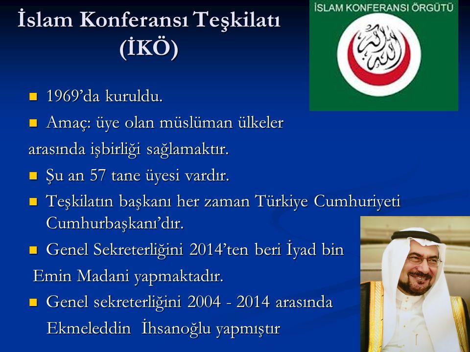 İslam Konferansı Teşkilatı (İKÖ)