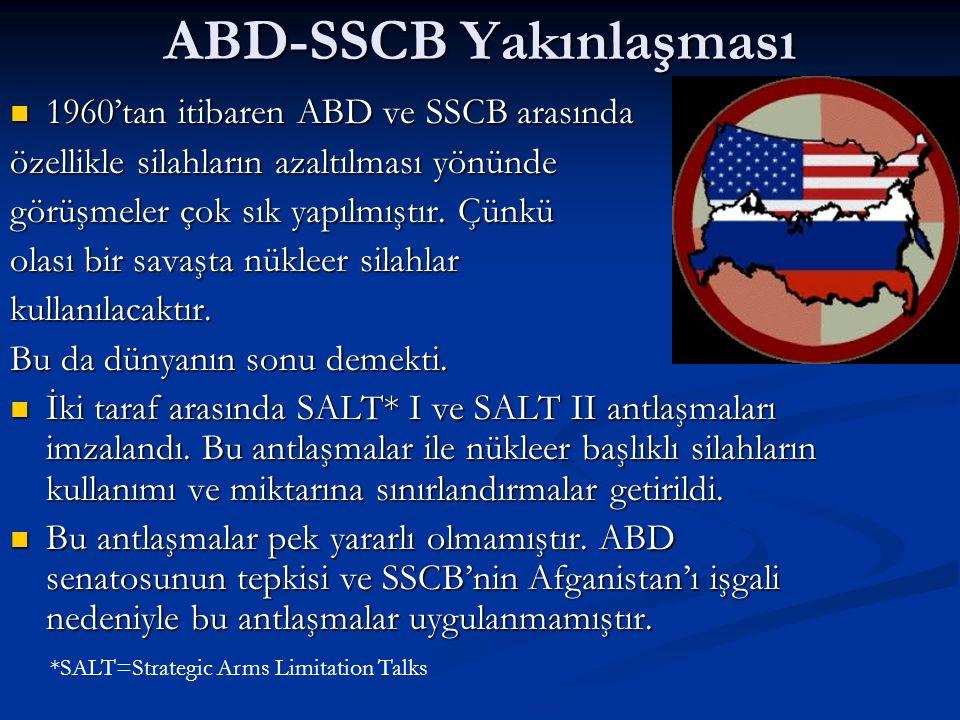 ABD-SSCB Yakınlaşması