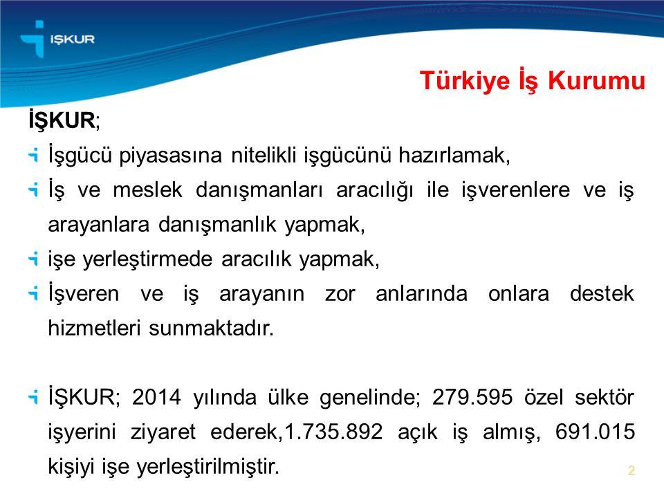 Türkiye İş Kurumu İŞKUR;