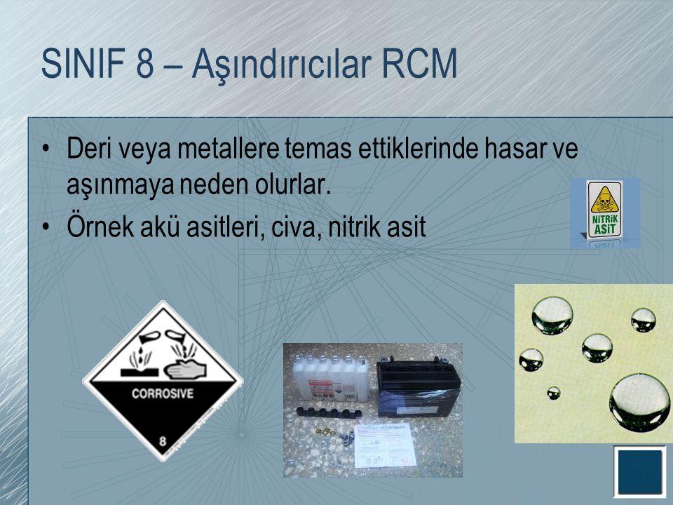 SINIF 8 – Aşındırıcılar RCM