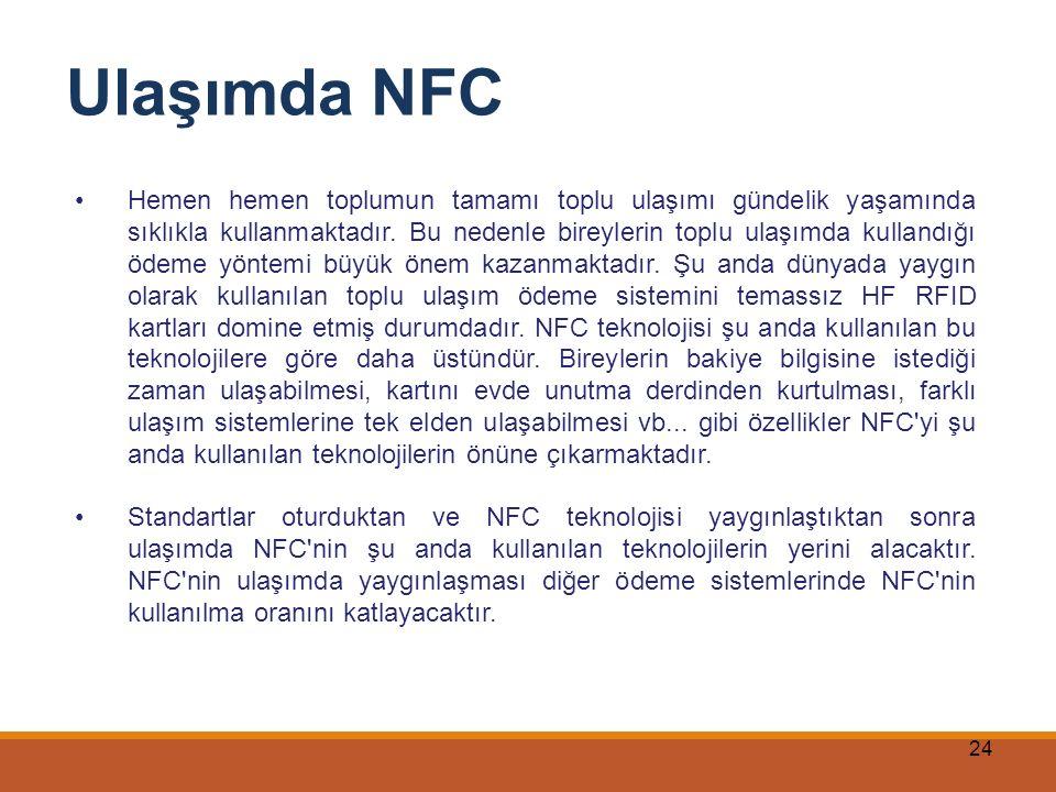 Ulaşımda NFC