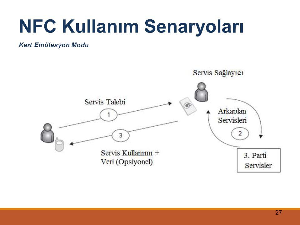 NFC Kullanım Senaryoları