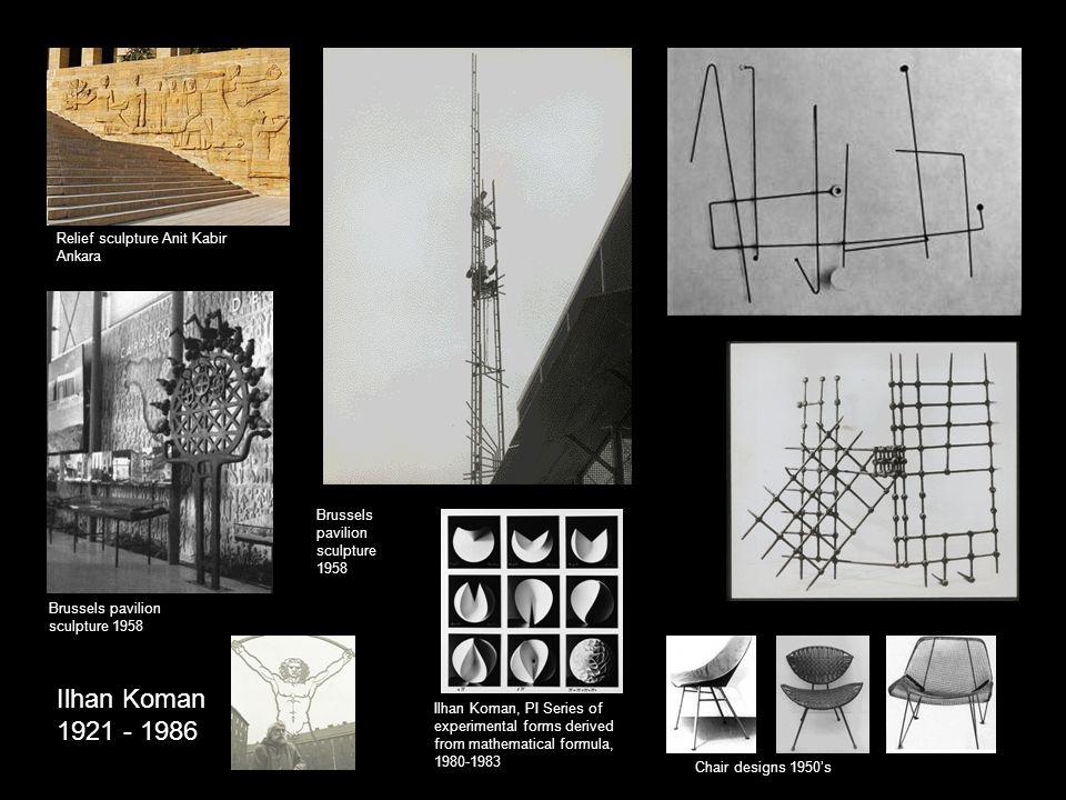 Ilhan Koman 1921 - 1986 Relief sculpture Anit Kabir Ankara