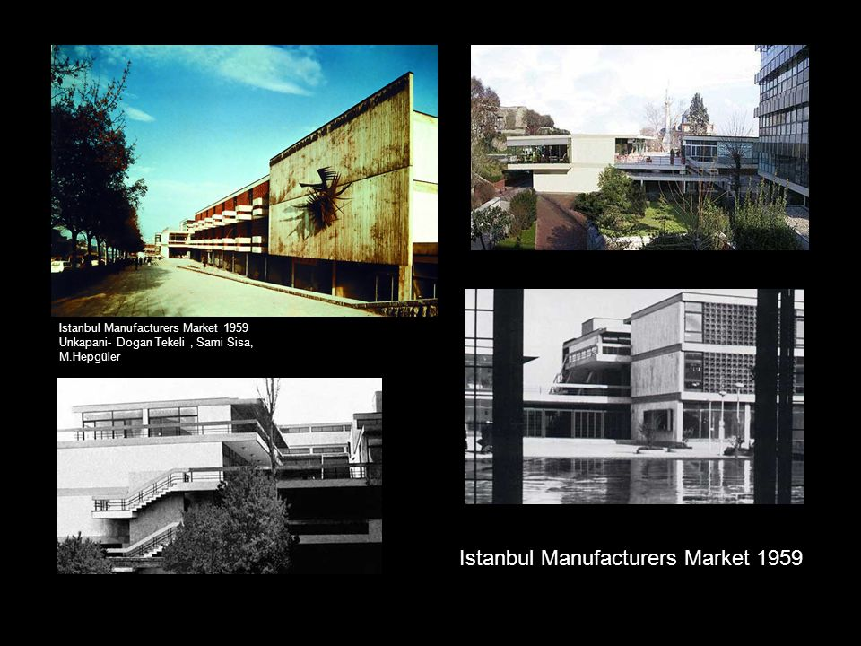 Istanbul Manufacturers Market 1959