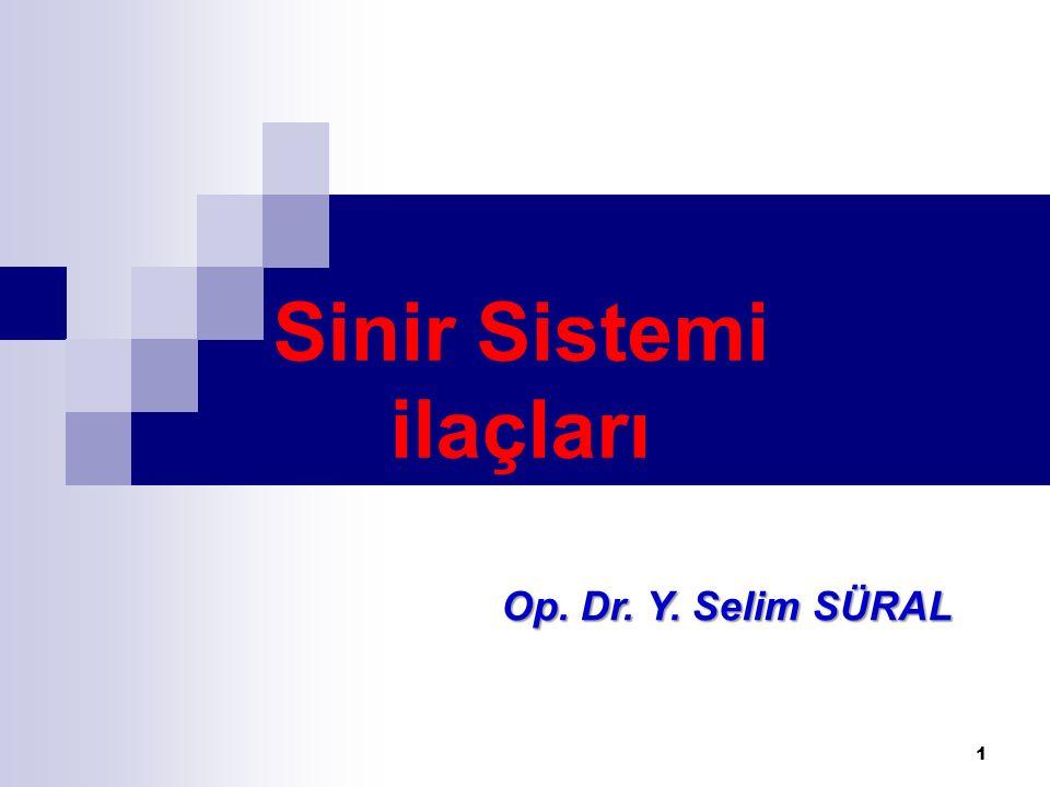 Sinir Sistemi ilaçları