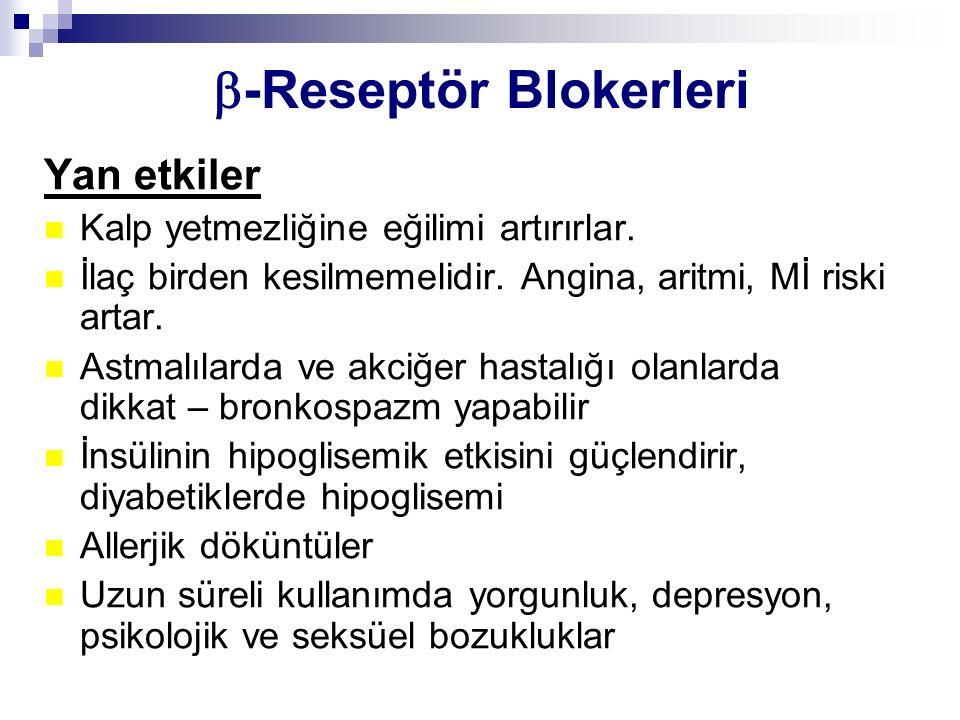 -Reseptör Blokerleri