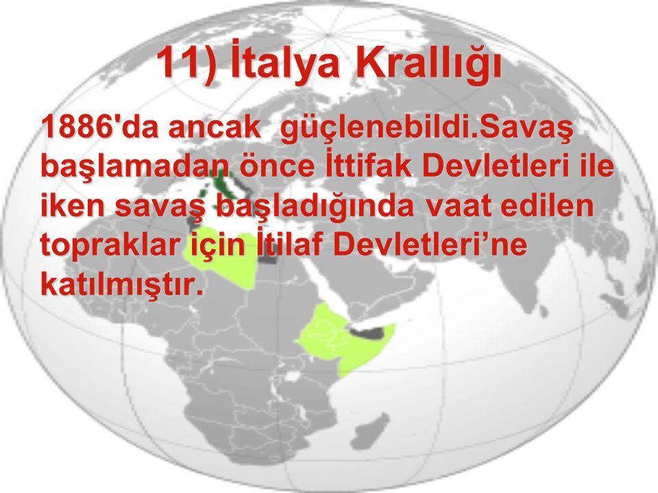 11) İtalya Krallığı