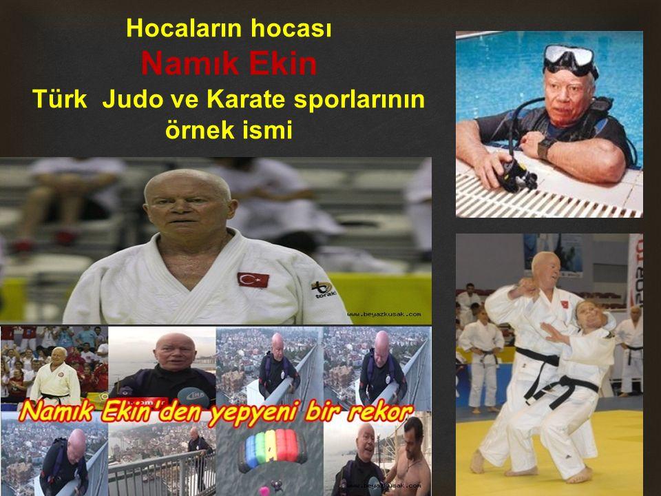 Türk Judo ve Karate sporlarının