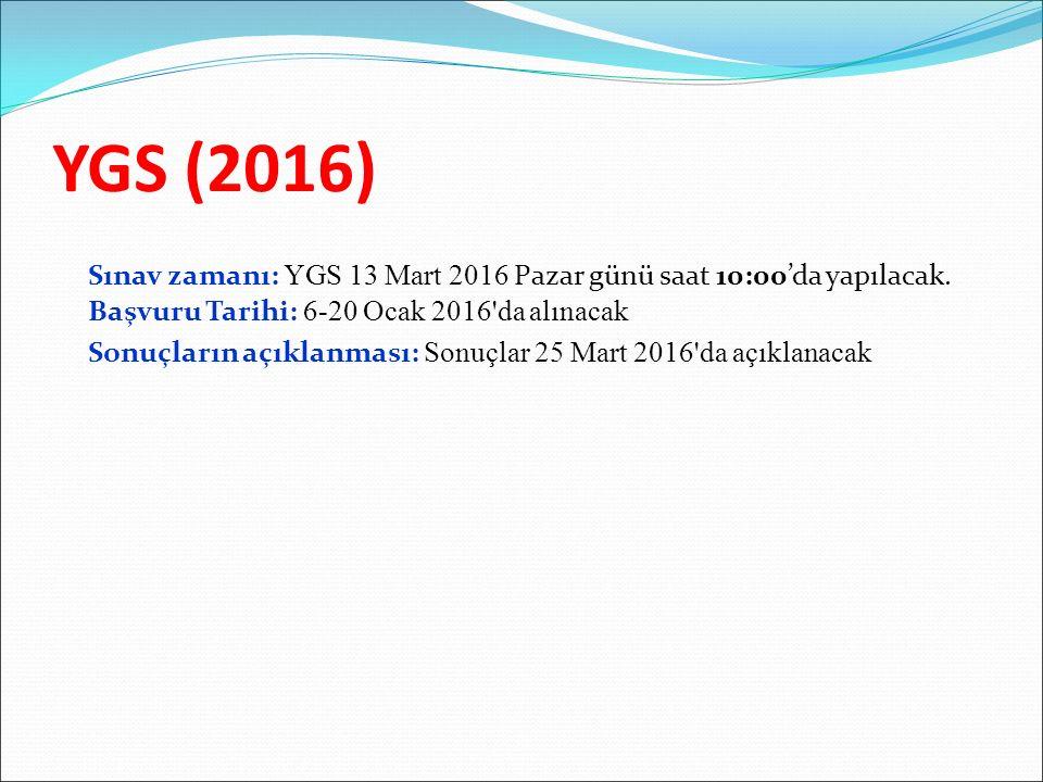 YGS (2016)