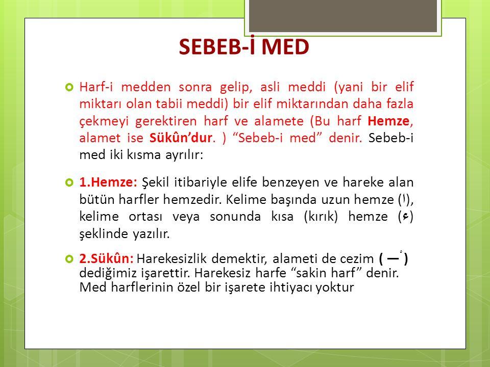 SEBEB-İ MED