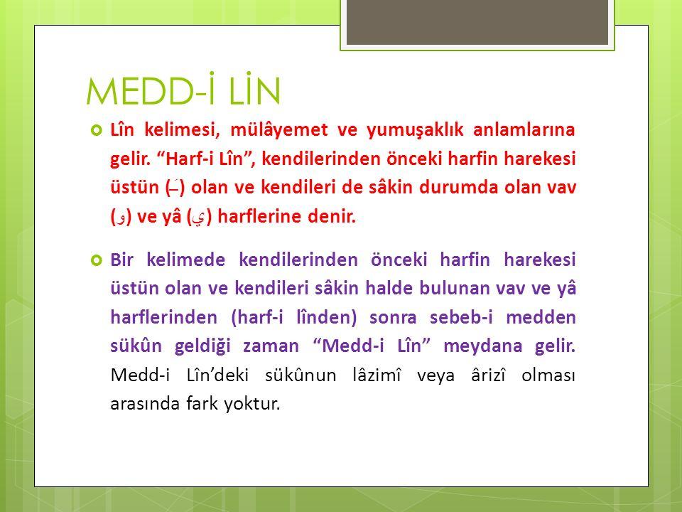 MEDD-İ LİN
