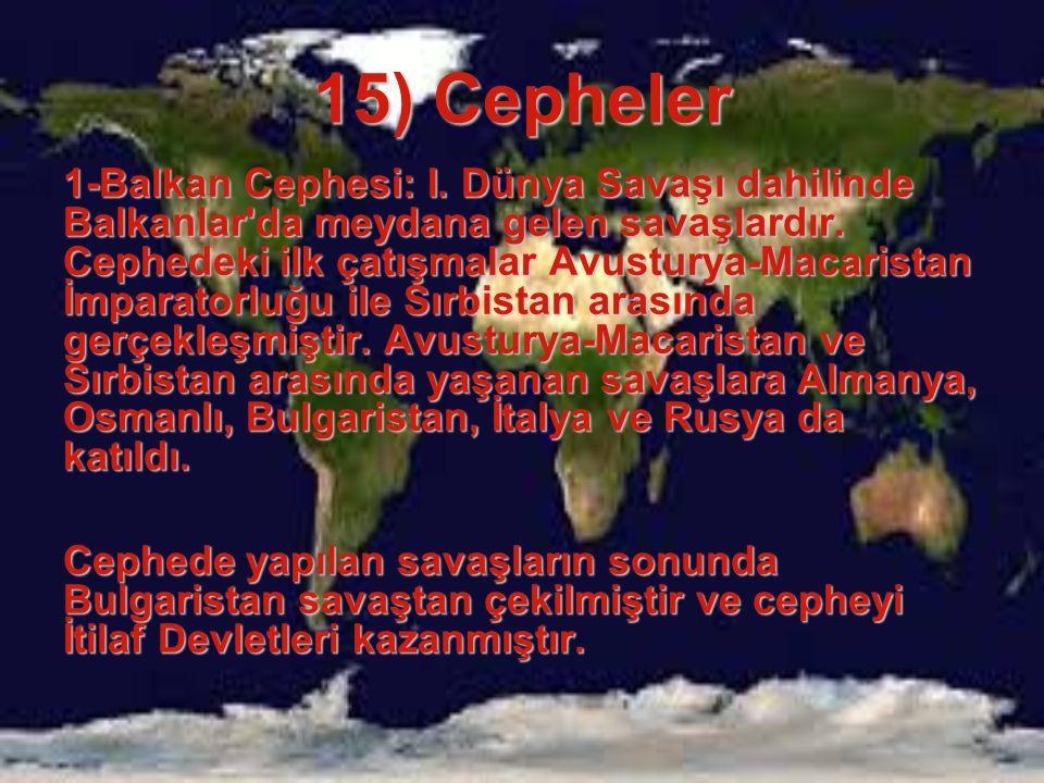 15) Cepheler
