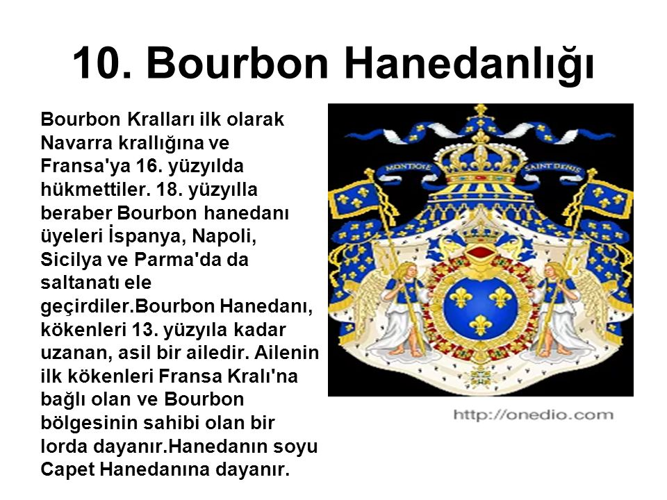 10. Bourbon Hanedanlığı