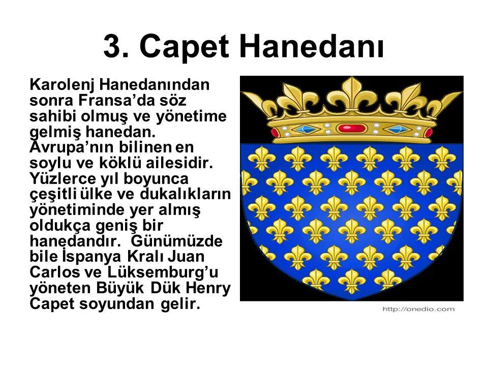 3. Capet Hanedanı